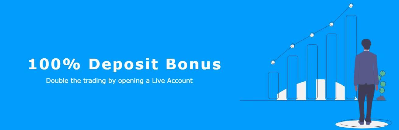 100% Deposit Bonus – Esta Trade