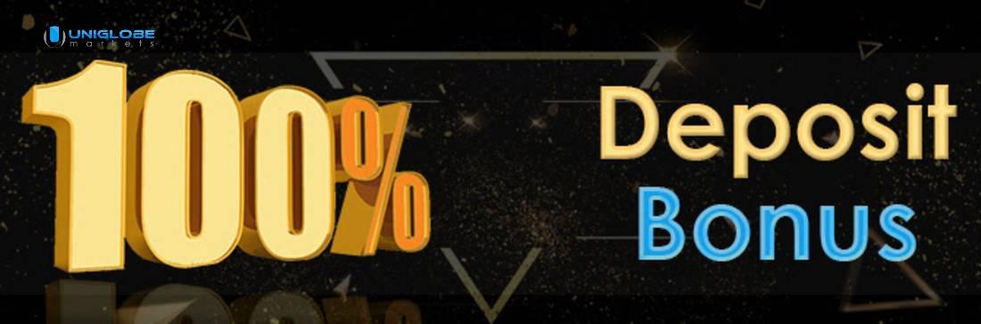 100% Deposit Bonus – UniglobeMarkets