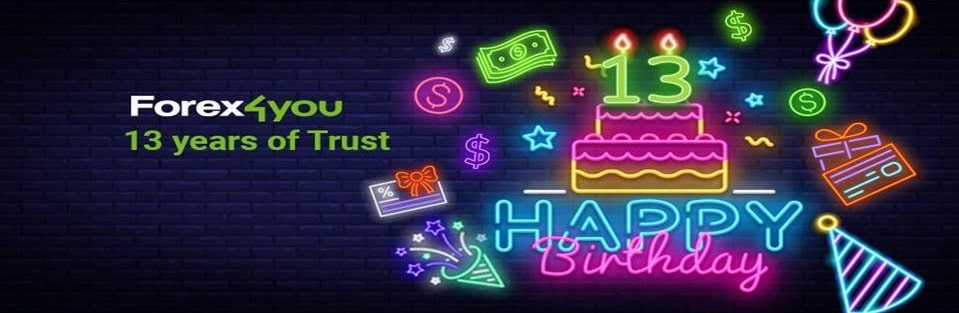 13th Birthday Giveaway – Forex4you