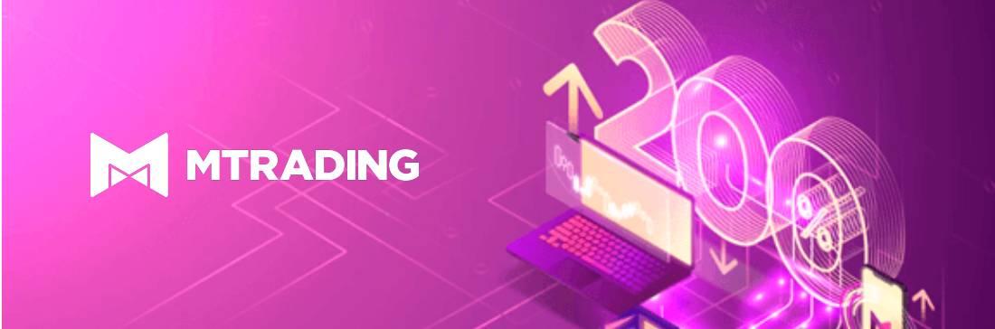 200% Deposit Bonus – MTrading