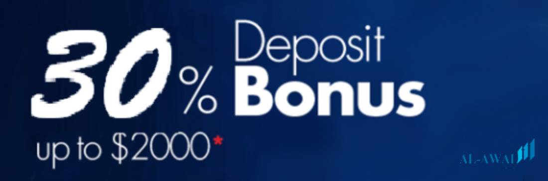 30% Deposit Bonus Up to 00 – Al-Awal