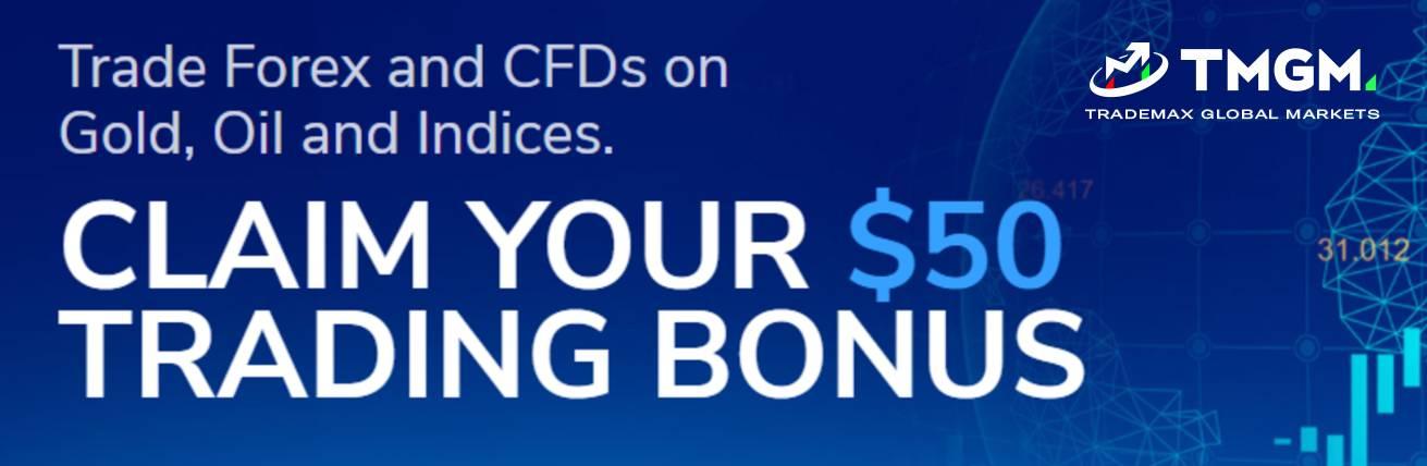 No Deposit Bonus – TMGM