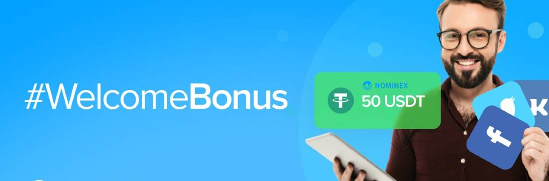 50 USDT Welcome Bonus – Nominex