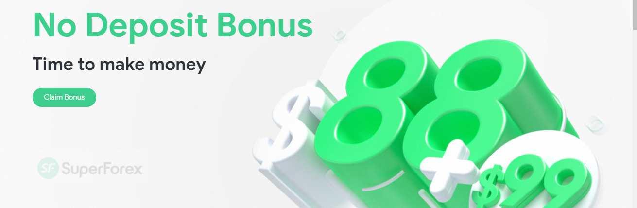 No Deposit Bonus – SuperForex