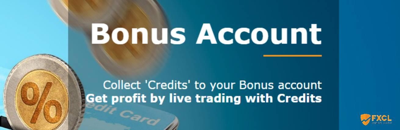 Bonus Account – FXCL Markets