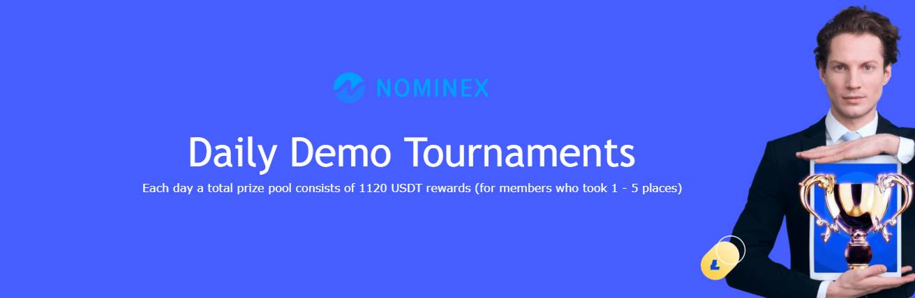 Daily Demo Tournaments 1120 USDT – Nominex