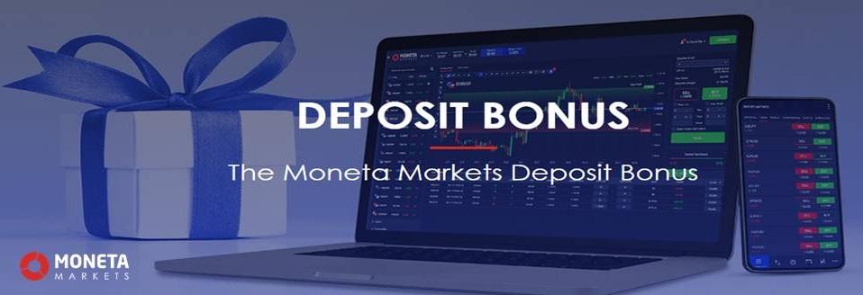 50% Deposit Bonus – MonetaMarkets
