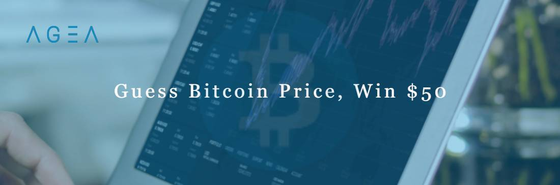 Guess Bitcoin Price Contest, Win  – AGEA