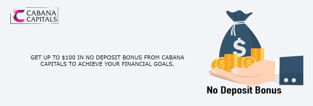 No Deposit Bonus for MT5 – Cabana Capitals