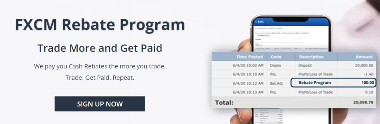 Rebate Program – FXCM South Africa