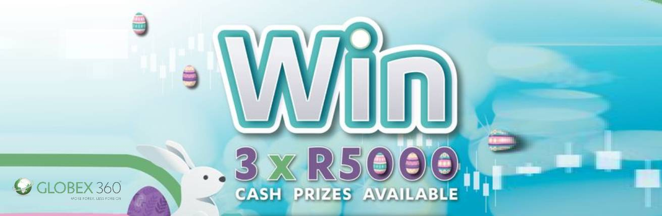 WIN 1 of 3 R5000 Cash Prizes – Globex360